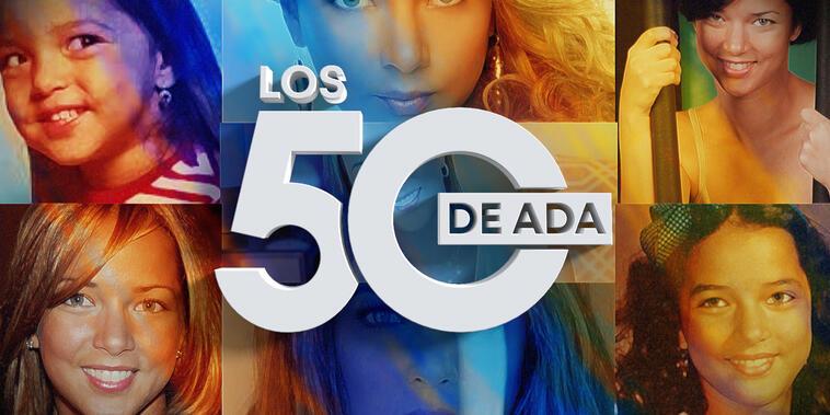 Los 50 de Adamari López