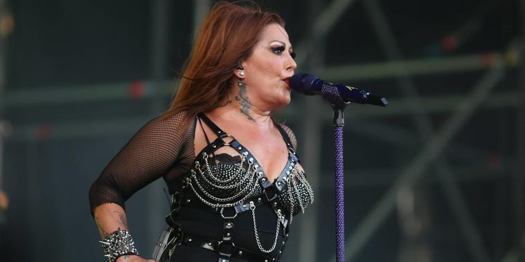 Alejandra Guzmán en el Machaca Fest de 2019
