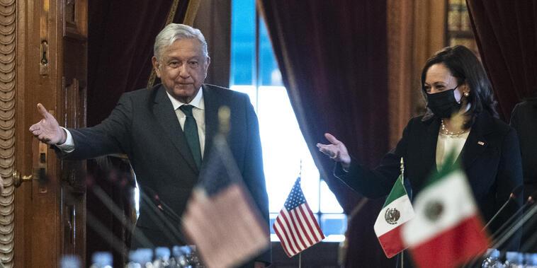 Kamala Harris,Andres Manuel Lopez Obrador