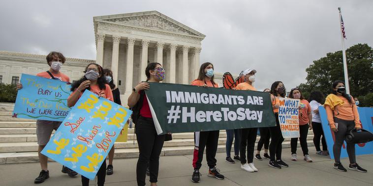 Beneficiaros de DACA frente a la Corte Suprema