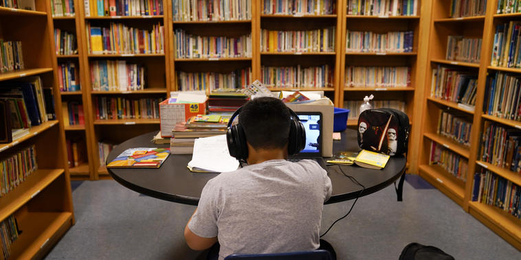 Estudiante en Los Ángeles, California
