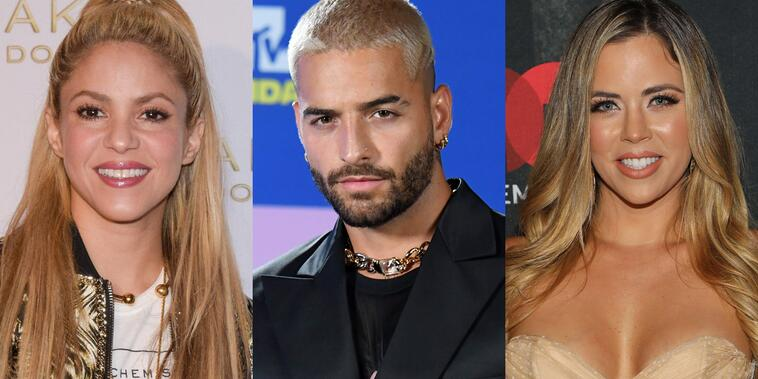 Shakira, Maluma y Ximena Duque