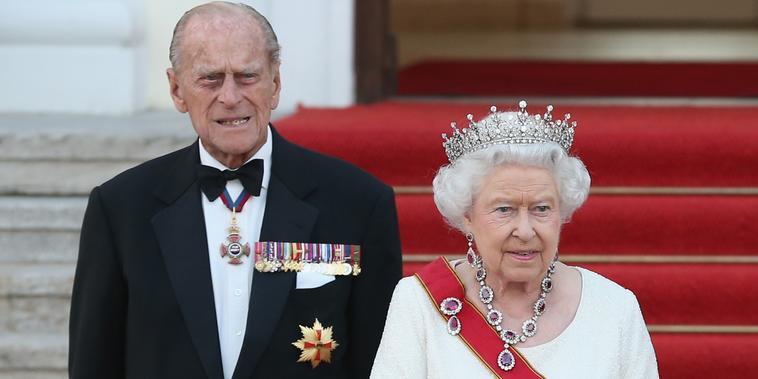El príncipe Philip y la reina Elizabeth