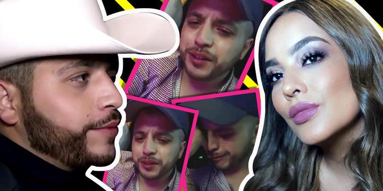 Jesús Mendoza, hundido en la tristeza, delata lo que hizo Mayeli Alonso