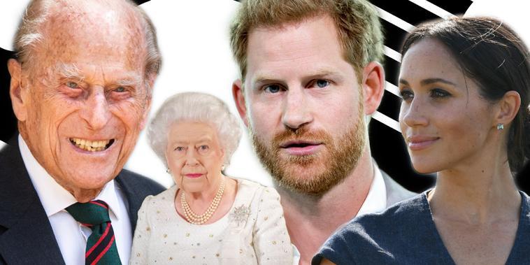 Tras muerte del príncipe Felipe, Harry y Meghan son puestos en la mira