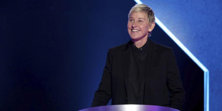 Ellen Degeneres en 'The Ellen DeGeneres Show'.