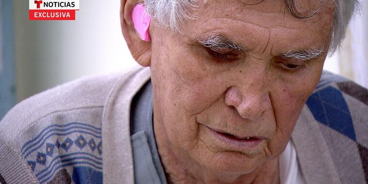 Miguel Ángel Félix Gallardo, de 75 años, durante su entrevista con Noticias Telemundo en el penal estatal de Puente Grande, Jalisco, agosto de 2021.