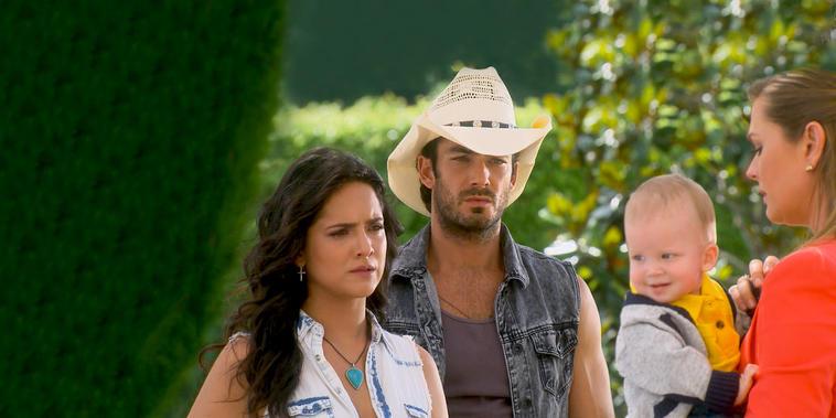 Tierra de Reyes, capítulo 151: Sofía decide irse del rancho del Junco con su hijo