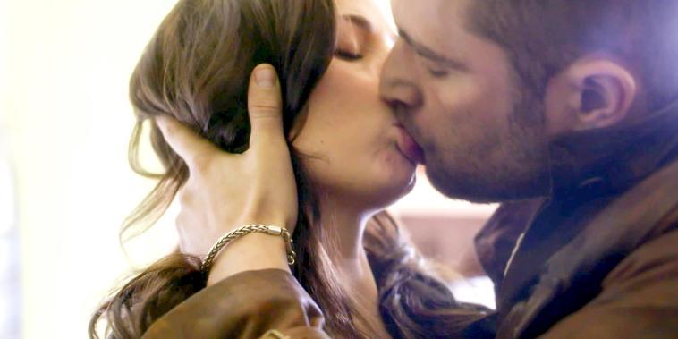 La Querida del Centauro, Capítulo 17: Yolanda golpea a Gerardo y este la besa