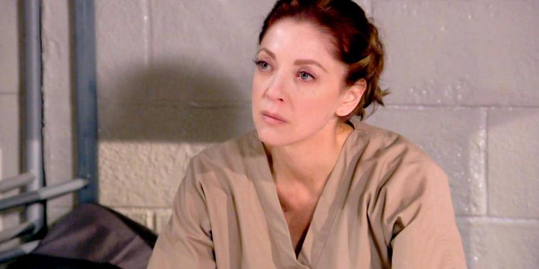 Eva La Trailera, capítulo 24: Eva sufre desde prisión por estar lejos de sus hijas