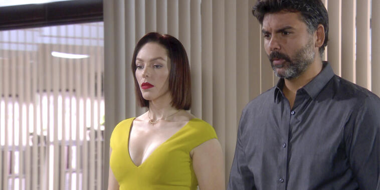 Eva La Trailera, capítulo 102: Aristóbulo Cepeda confía más en la versión de Eva