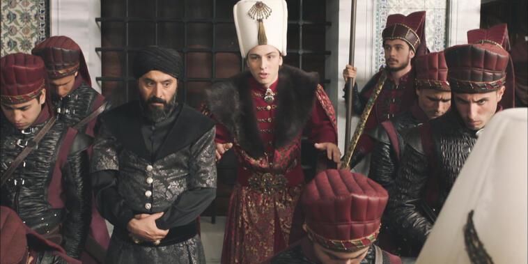 La Sultana, Capítulo 44: El temeroso Mustafá en el trono