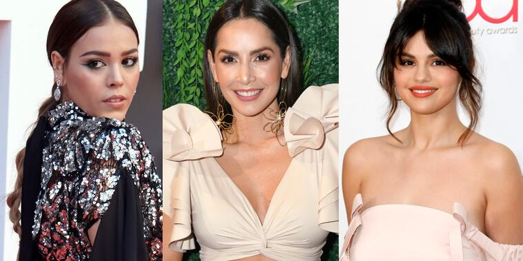 Danna Paola, Carmen Villalobos, Selena Gomez