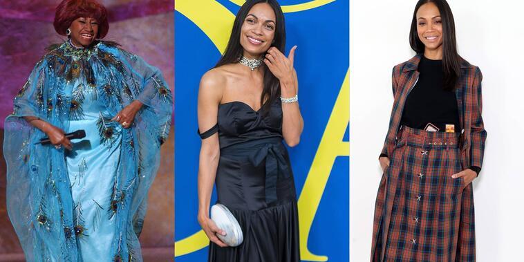 Rosario Dawson, Celia Cruz, Zoe Saldaña