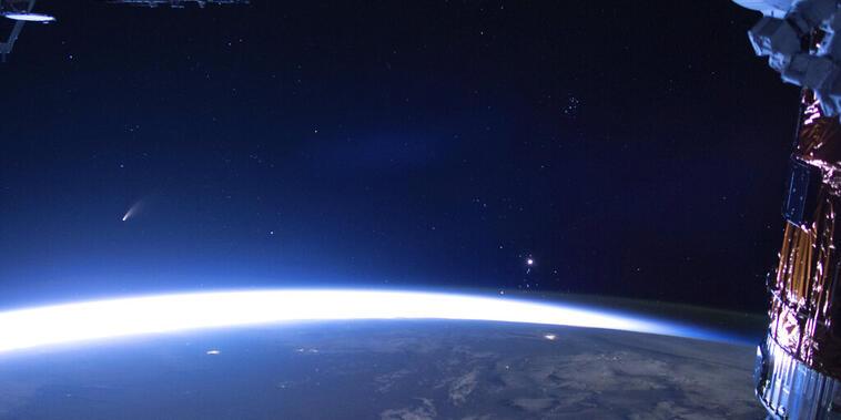 Imagen de archivo de la NASA de la tierra vista desde la Estación Espacial Internacional