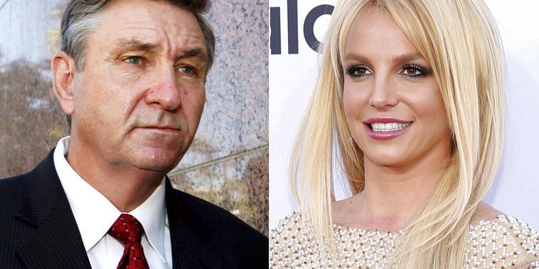 La cantante Britney Spears y su padre, Jamie Spears
