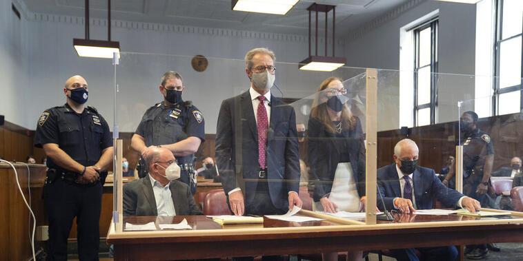 Allen Weisselberg, director ejecutivo de la Organización Trump, comparece en una corte de Nueva York