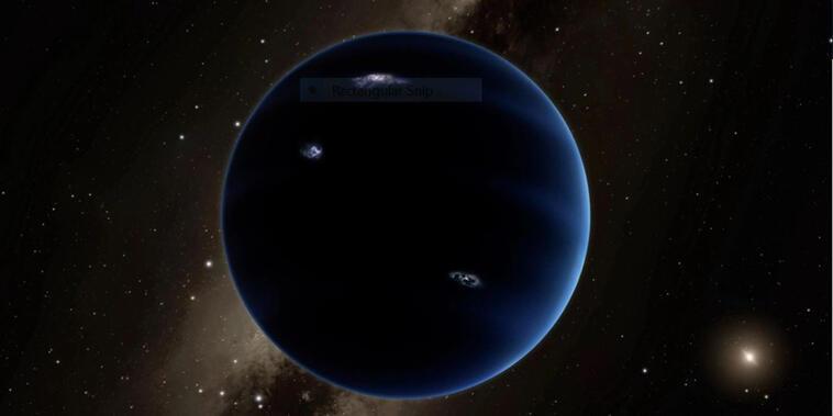 El Planeta 9 sería mucho más brillante y más pequeño que la Tierra.