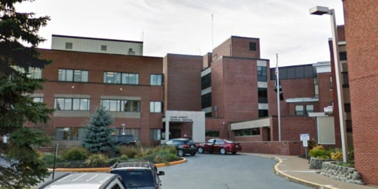 Hospital General del Condado de Lewis, en el estado de Nueva York.