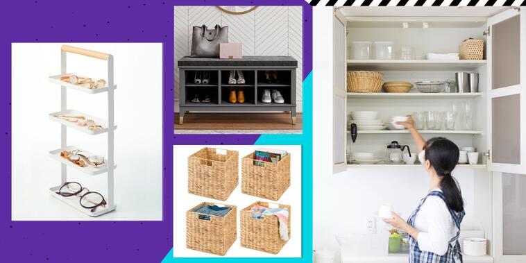 Mantente organizado con estos 12 muebles y accesorios   Telemundo