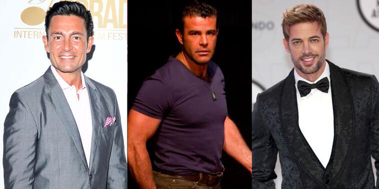 Fernando Colunga, Eduardo Capetillo y William Levy, actores de novelas mexicanas