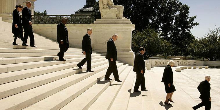Funeral del expresidente de la Corte Suprema William Rehnquist.