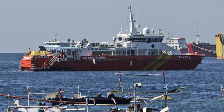 búsqueda del submarino KRI Nanggala.