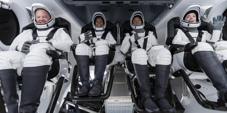Tripulación del Space X