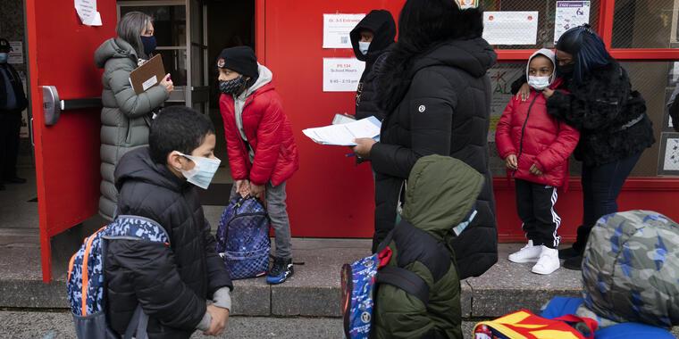 Escuela primaria en Nueva York.