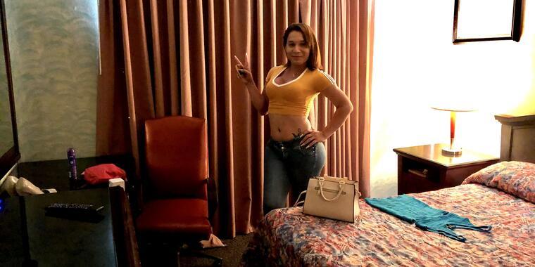 Natalia, una trabajadora sexual en Tijuana durante la pandemia.