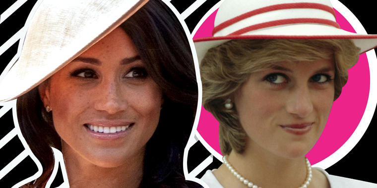 HHermana de Meghan Markle revela la obsesión de la duquesa por ser como Lady Di
