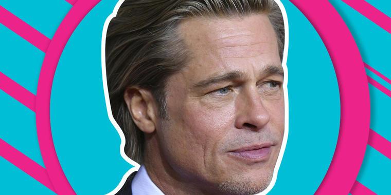 Brad Pitt silla de ruedas