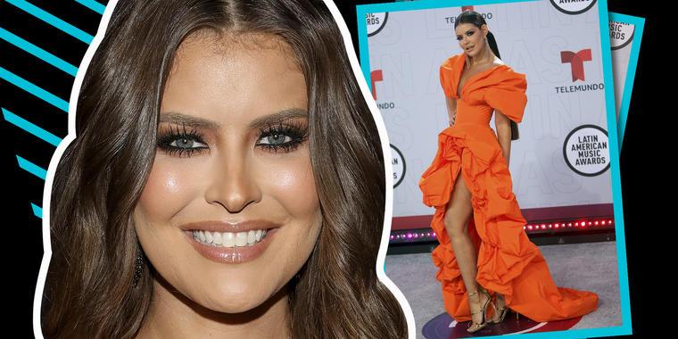 Vanessa Claudio pasó de un deslumbrante vestido naranja a un negro y escandalizador