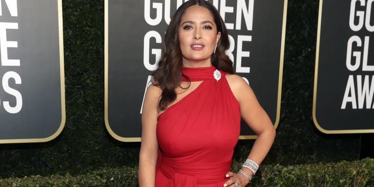 Salma Hayek, Golden Globes 2021