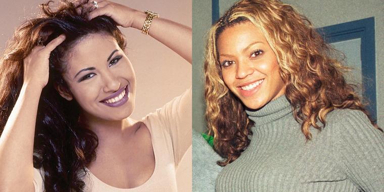 Selena Quintanilla y Beyoncé