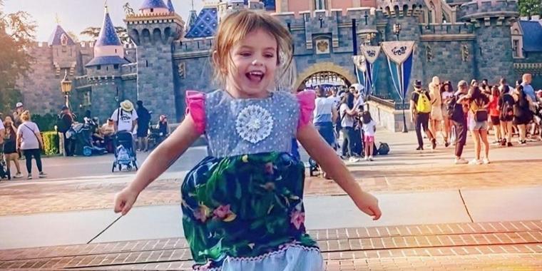 Kailani Ochmann Derbez en Disney