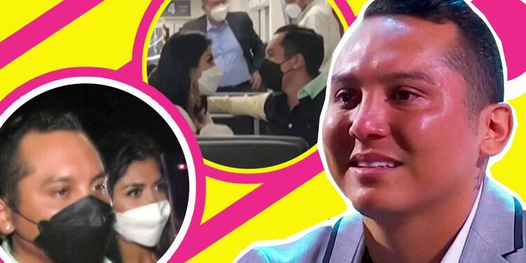 Kimberly Flores le reclama a Edwin Luna tras sacarla de La Casa de Los Famosos