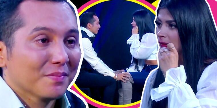 Kimberly Flores aturdida escucha las terribles cosas que le dice Edwin Luna