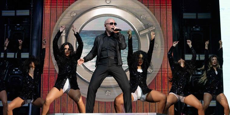 Pitbull estrena 'I Feel Good'