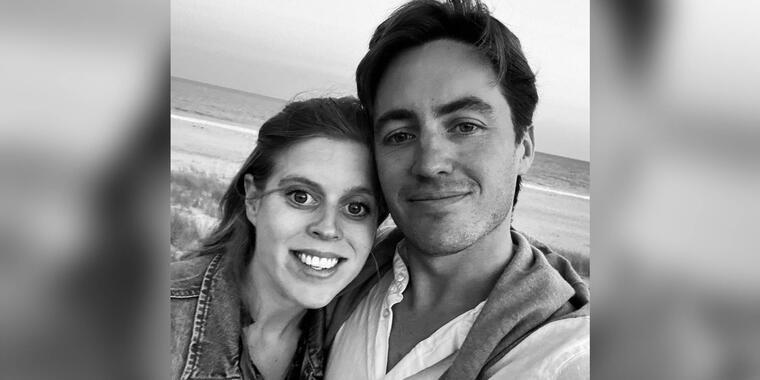 La princesa Beatrice y su esposo Edoardo Mapelli Mozzi