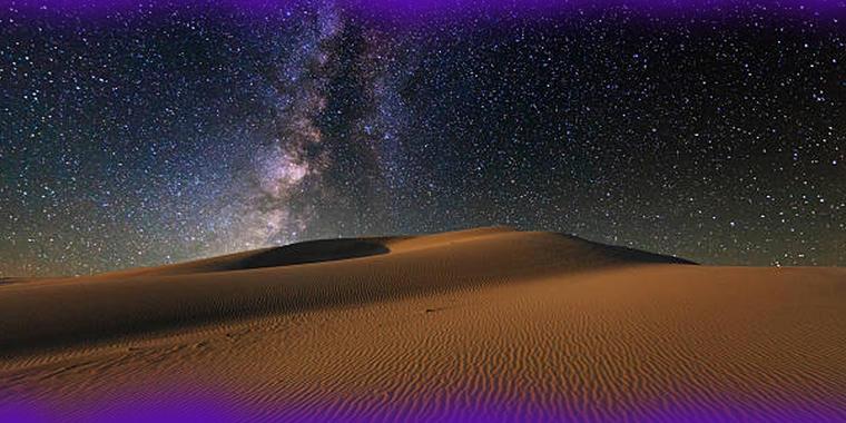 Desierto extremadamente frío