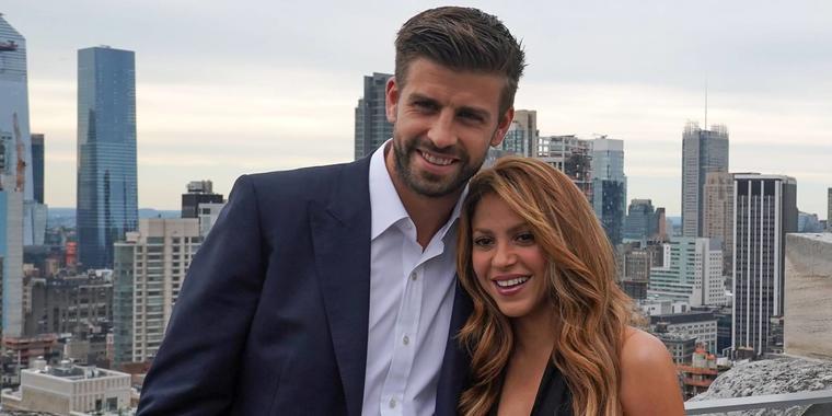Shakira y Gerard Piqué Nueva York 2019
