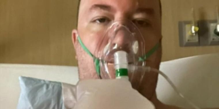 Michael Freedy, de 39 años, padre de cinco niños que falleció a causa del COVID-19