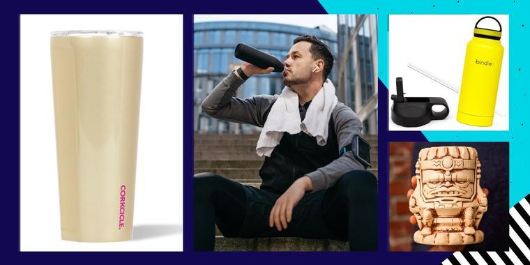 15 tazas, botellas y accesorios para saciar tu sed en cualquier lugar | Telemundo