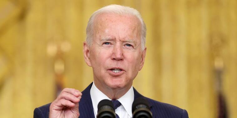 El presidente, Joe Biden, ofrece una rueda de prensa sobre Afganistán tras los atentados mortales en Kabul