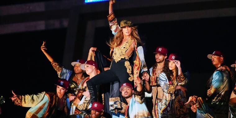Jennifer López en el concierto Global Citizen Live en Nueva York