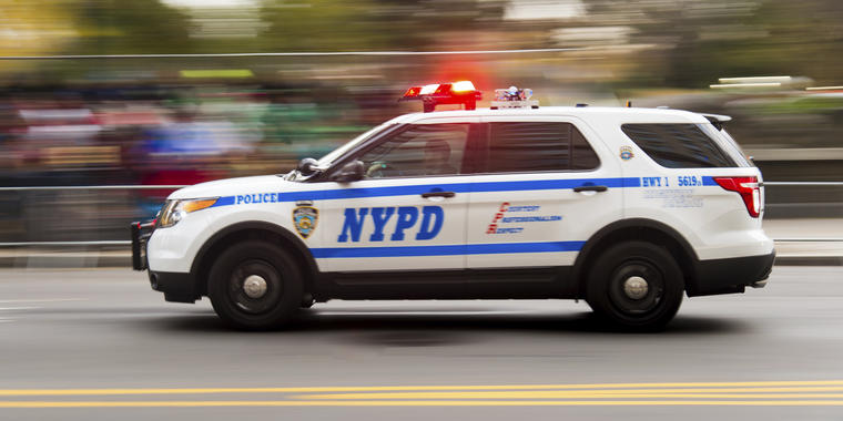 Policía de Nueva York.