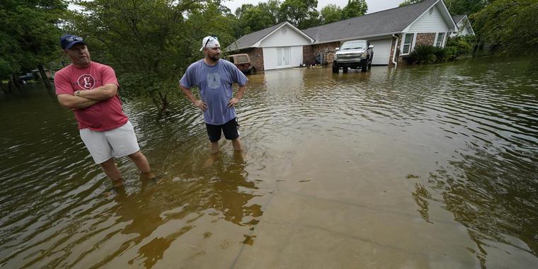 Tormenta tropical Claudette en Louisiana