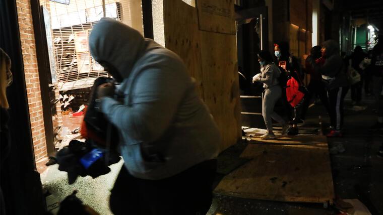 Nueva York Prolonga El Toque De Queda Hasta El Domingo Debido A Los Disturbios Telemundo