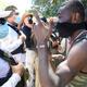 Desmantelan campamentos de migrantes haitianos en México
